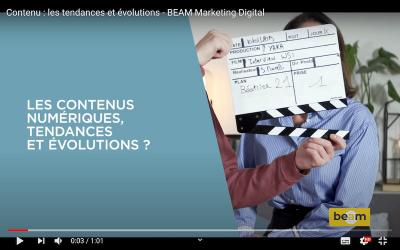 Les contenus numériques : tendances et évolutions ?