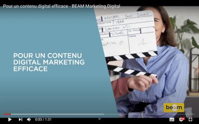 Pour un contenu digital efficace